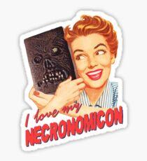 I love my Necronomicon Sticker