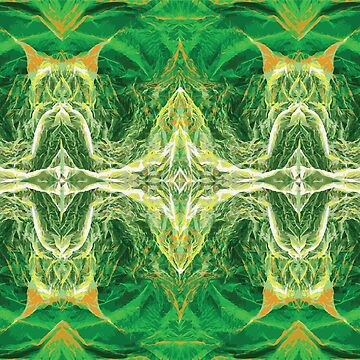 Beautiful green pattern  by calvinmd