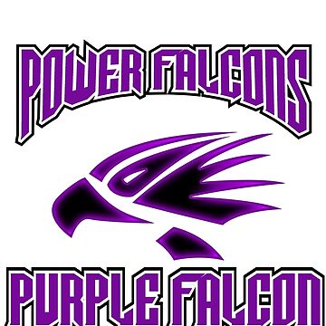 "power falcons ""purple"" by DerezzedDigital"