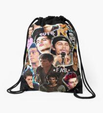 Dylan O'brien collage  Drawstring Bag