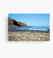 Tide's out. Canvas Print