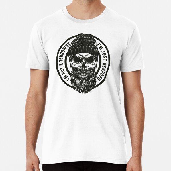 I'm not a Terrorist I'm just Bearded T-Shirt Premium T-Shirt