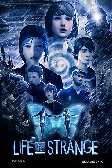 Quot Life Is Strange Cinematic Poster Quot Poster By Tja3200
