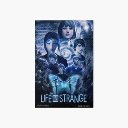 Life is Strange - Cinematic Poster Art Board Print