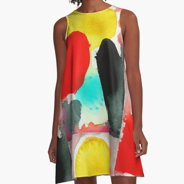 Here Comes the Sun A-Line Dress