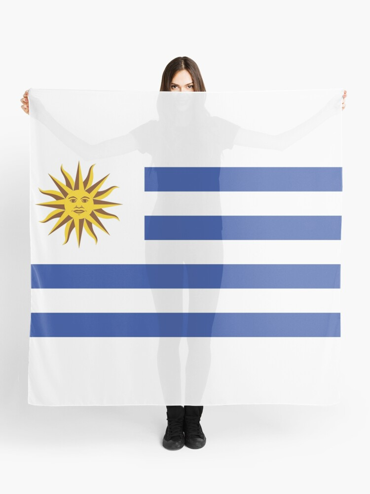33ae2fd4e95 Uruguay Football World Cup 2018 | National Flag | Merchandise • ID-A1 Scarf