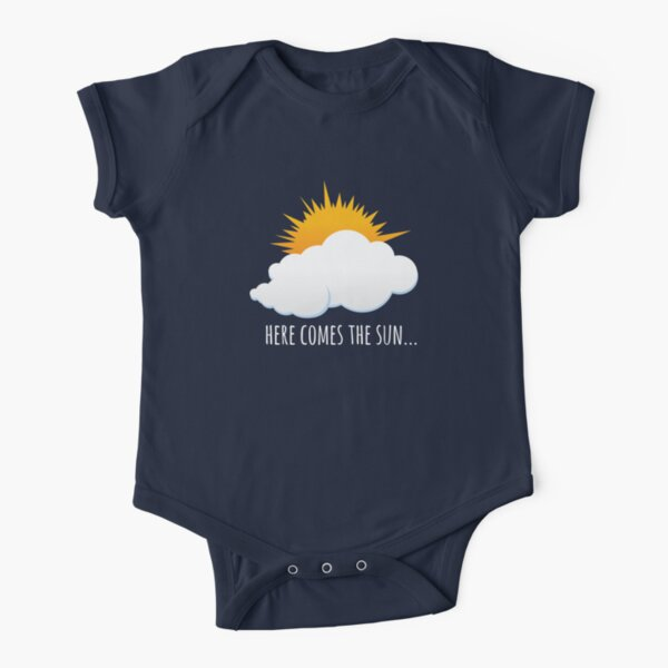 Here Comes The Sun Short Sleeve Baby One-Piece