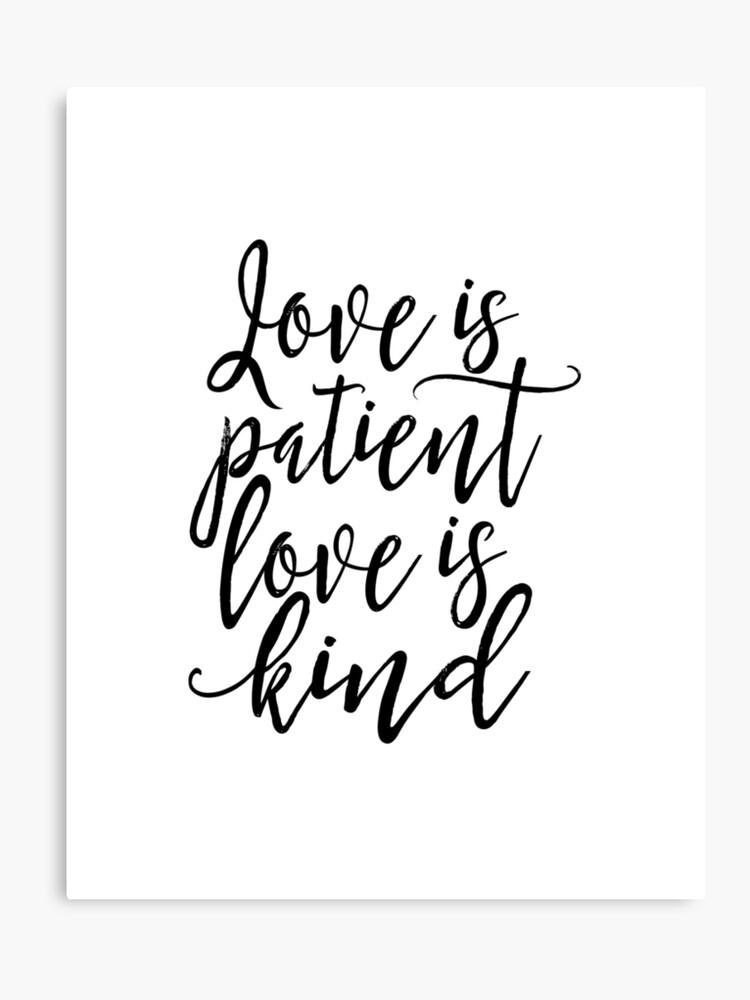 verse love is patient love is kind
