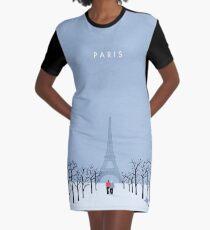 Paris T-Shirt Kleid