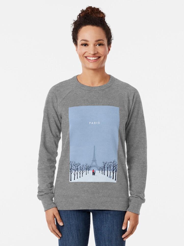 Alternative Ansicht von Paris Leichtes Sweatshirt