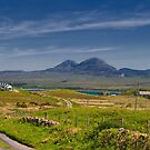 Islay: On the Road to Bunnahabhain by Kasia-D