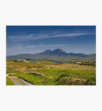 Islay: On the Road to Bunnahabhain Photographic Print