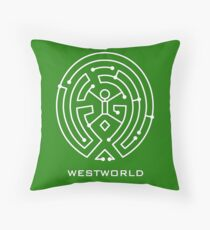 Westworld Circuit Throw Pillow