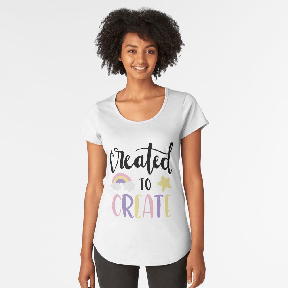 Creators and Makers Premium Scoop T-Shirt