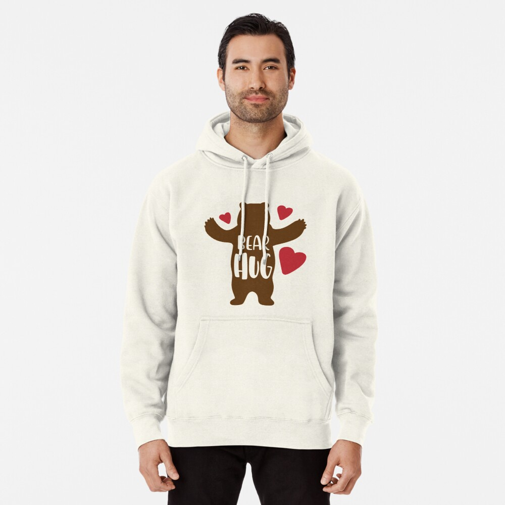 Bear Hug Pullover Hoodie
