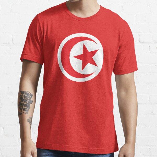 Tunesien Tunisien Fußball Weltmeisterschaft 2018   Nationalflagge   Waren • ID-A1 Essential T-Shirt