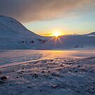 Beautiful sunrise in Iceland by Victoria Ashman