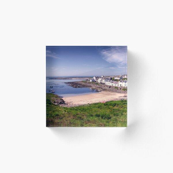 Islay: Portnahaven Acrylic Block