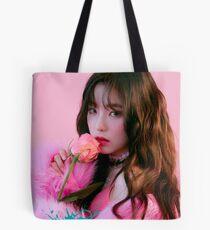 RV IRENE The Perfect Red Velvet Tote Bag