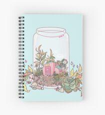Retail terrarium Spiral Notebook