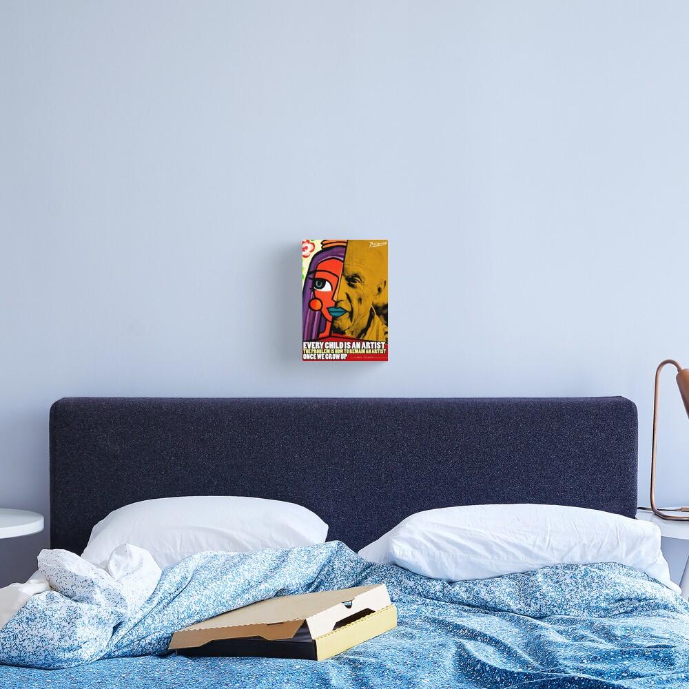 Pablo Picasso Quote Canvas Print