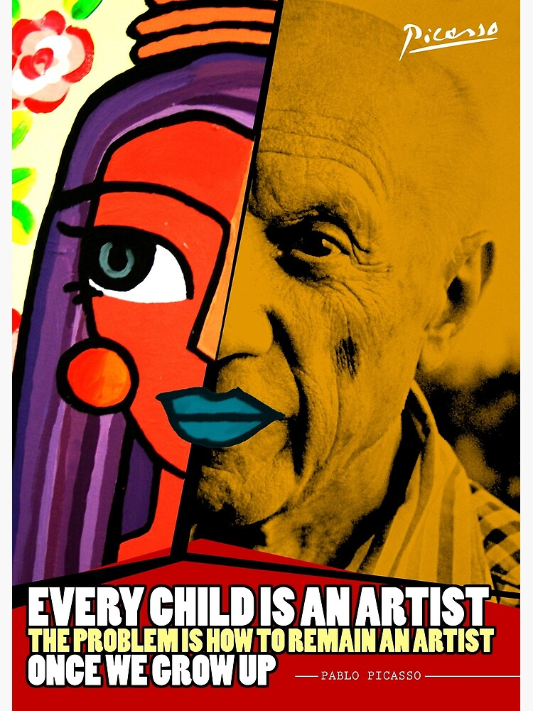 Pablo Picasso Quote by pahleeloola