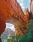 Fay Canyon Arch, Sedona, Arizona by Stephen Beattie