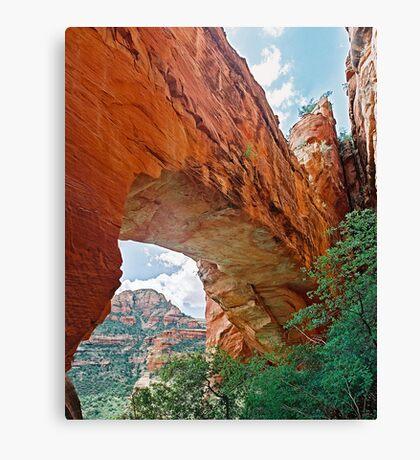 Fay Canyon Arch, Sedona, Arizona Canvas Print