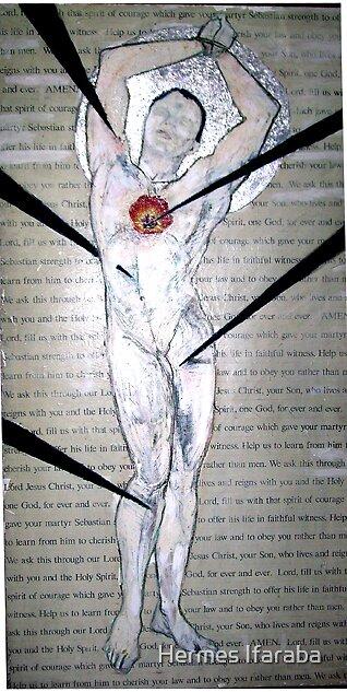 Saint Sebastian by Hermes Ifaraba