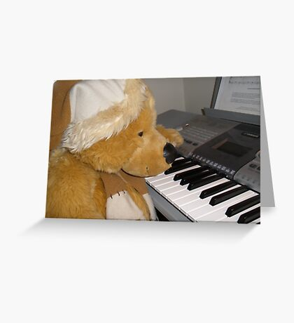 How does that tune go? Greeting Card