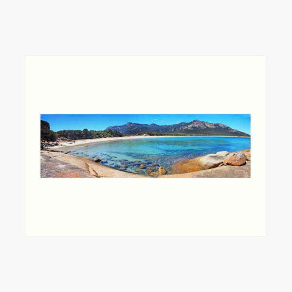Trousers Point and the Strezlecki range Art Print