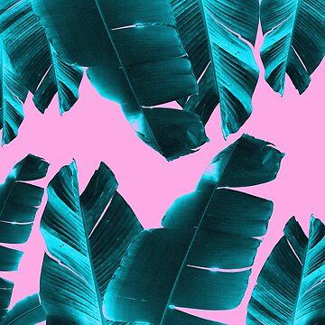 Banana Leaves Tropical Vibes #3 #foliage #decor #art by anitabellajantz