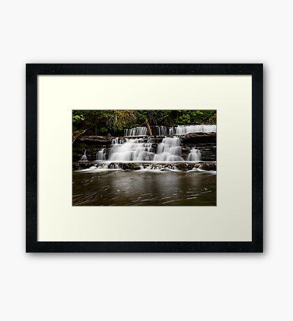 Stair Falls Framed Print