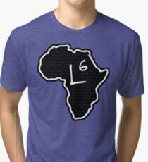 The Haplogroup in You - L6 Tri-blend T-Shirt