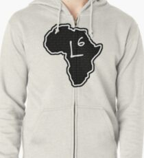 The Haplogroup in You - L6 Zipped Hoodie