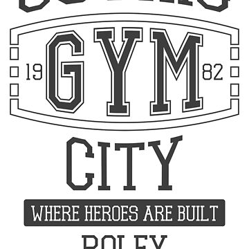 Gothic City Gym by RoleyShop