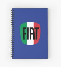 FIAT logo (Italy) Spiral Notebook