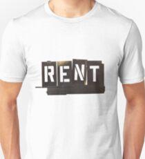 RENT Musical Unisex T-Shirt