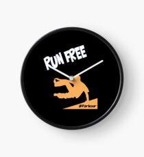 Parkour Design - Run Free Parkour Clock