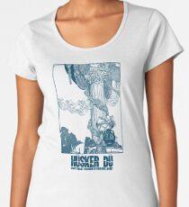 Hüsker Dü - Grant hart (blue) Women's Premium T-Shirt