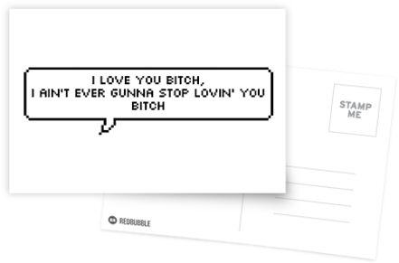 Ich liebe dich Hündin von ailsaos