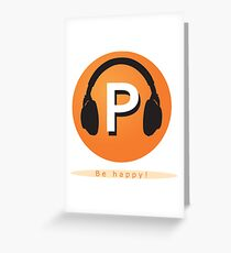Podcastlover Greeting Card