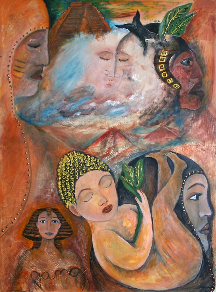 ancient dream of a unborn child by janaschmidt