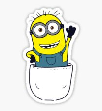 Pocket Minion Sticker