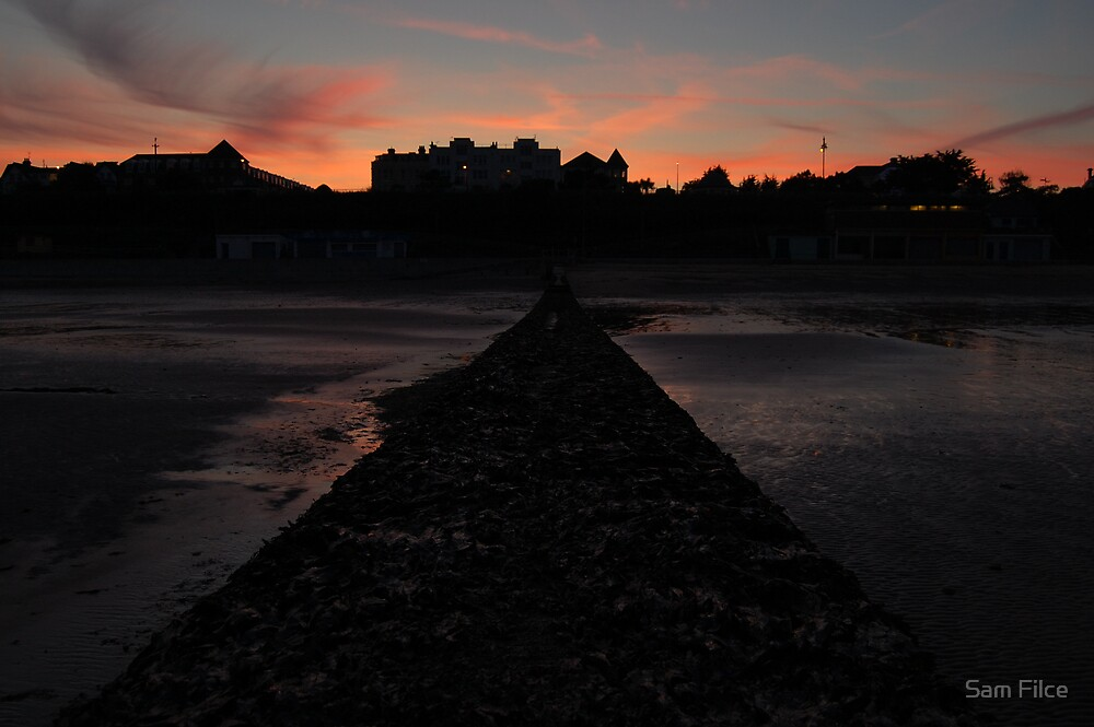 Clacton Seafront by Sam Filce