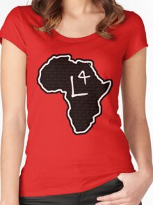 The Haplogroup in You - L4 Women's Fitted Scoop T-Shirt