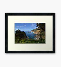 The Big Sur Framed Print