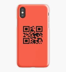 "QR -code ""Bad Motherfucker"" iPhone Case"
