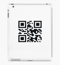 "QR -code ""Bad Motherfucker"" iPad Case/Skin"