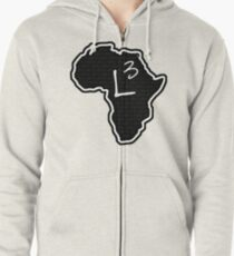 The Haplogroup in You - L3 Zipped Hoodie